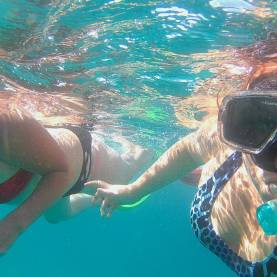 our first underwater selfie